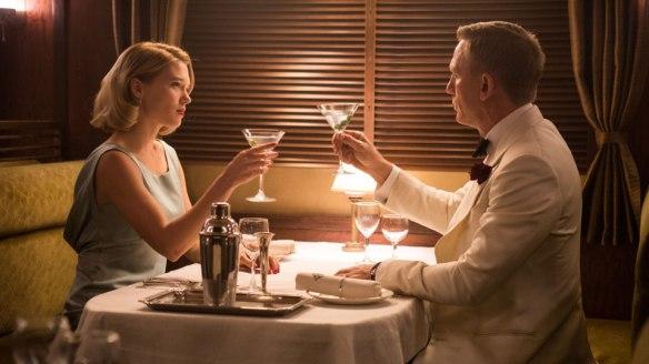 Lea Seydoux Daniel Craig Spectre aperitivo